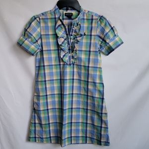 Ralph Lauren  Plaid Dress Size 14